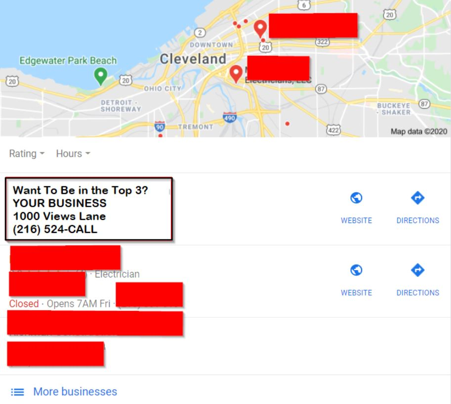 Google My Business Cleveland